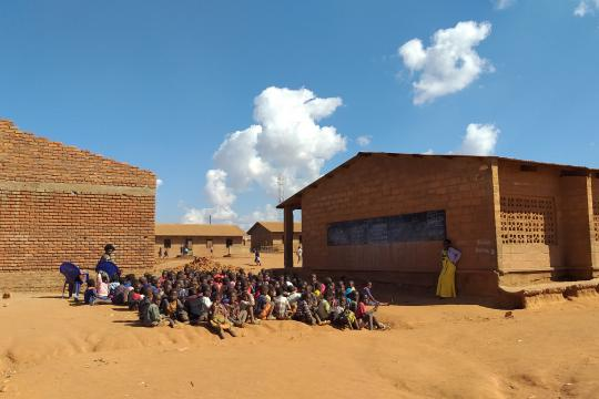 Start bouw lokalen Chipala school in Malawi