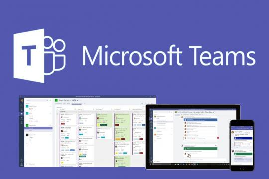 Les volgen via Microsoft Teams